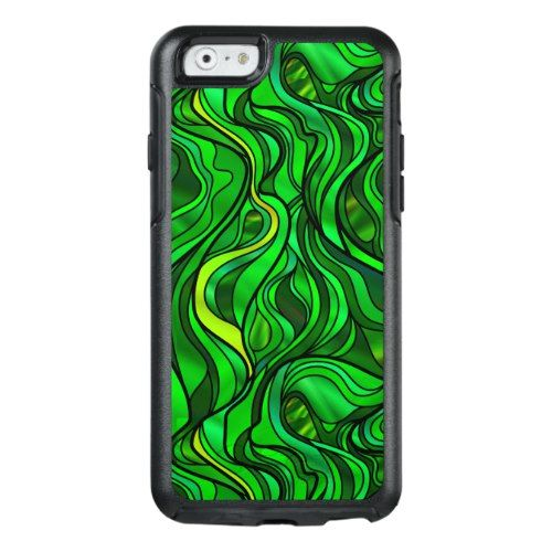 Green Stained Glass Abstract OtterBox IPhone 6/6s Case