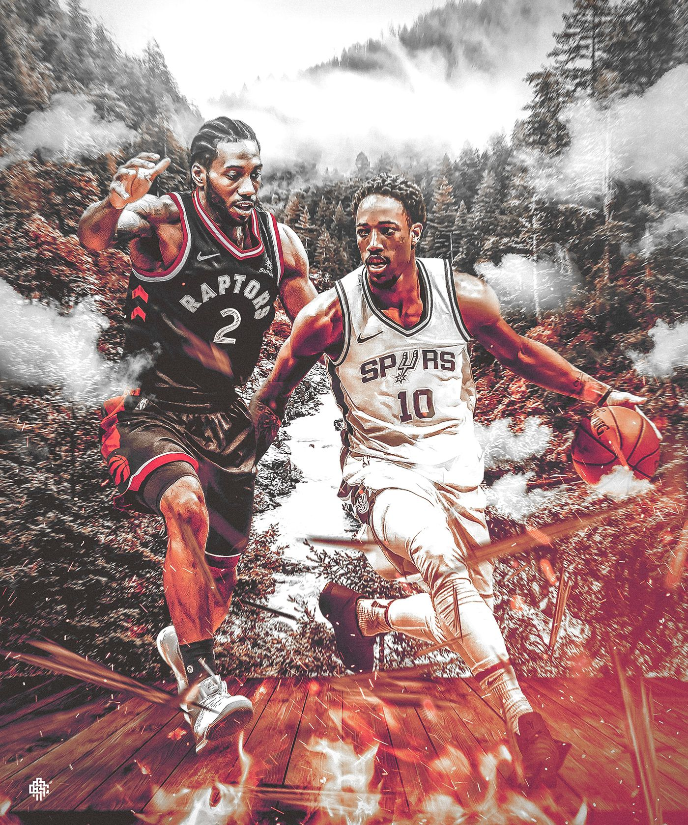 5fa493f2b15 Jersey Swap for Kawhi Leonard #2 to Toronto Raptors and Demar DeRozan to  San Antonio Spurs | Project for ClutchPoints