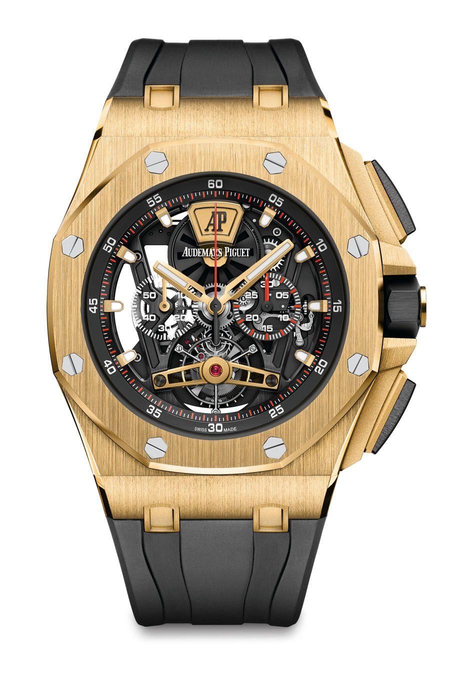 Audemars Piguet Royal Oak Offshore Tourbillon Chronograph Sihh 2017 Luxus Uhren Teure Uhren Uhren