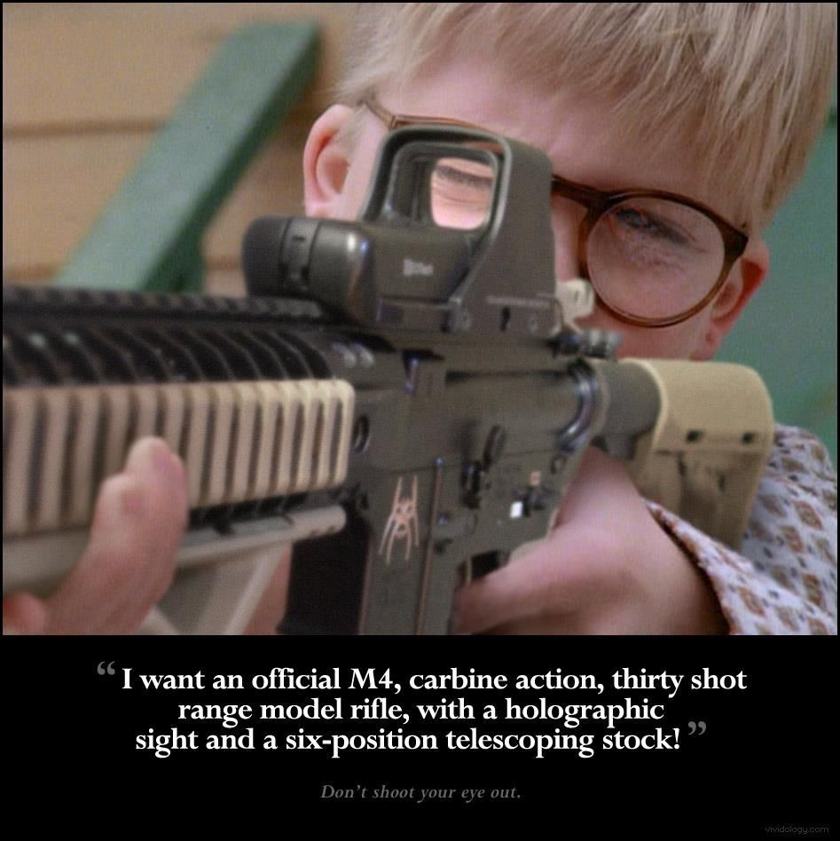 Don\'t shoot your eye out! | Guns | Pinterest | Guns, Ar15 and Knives