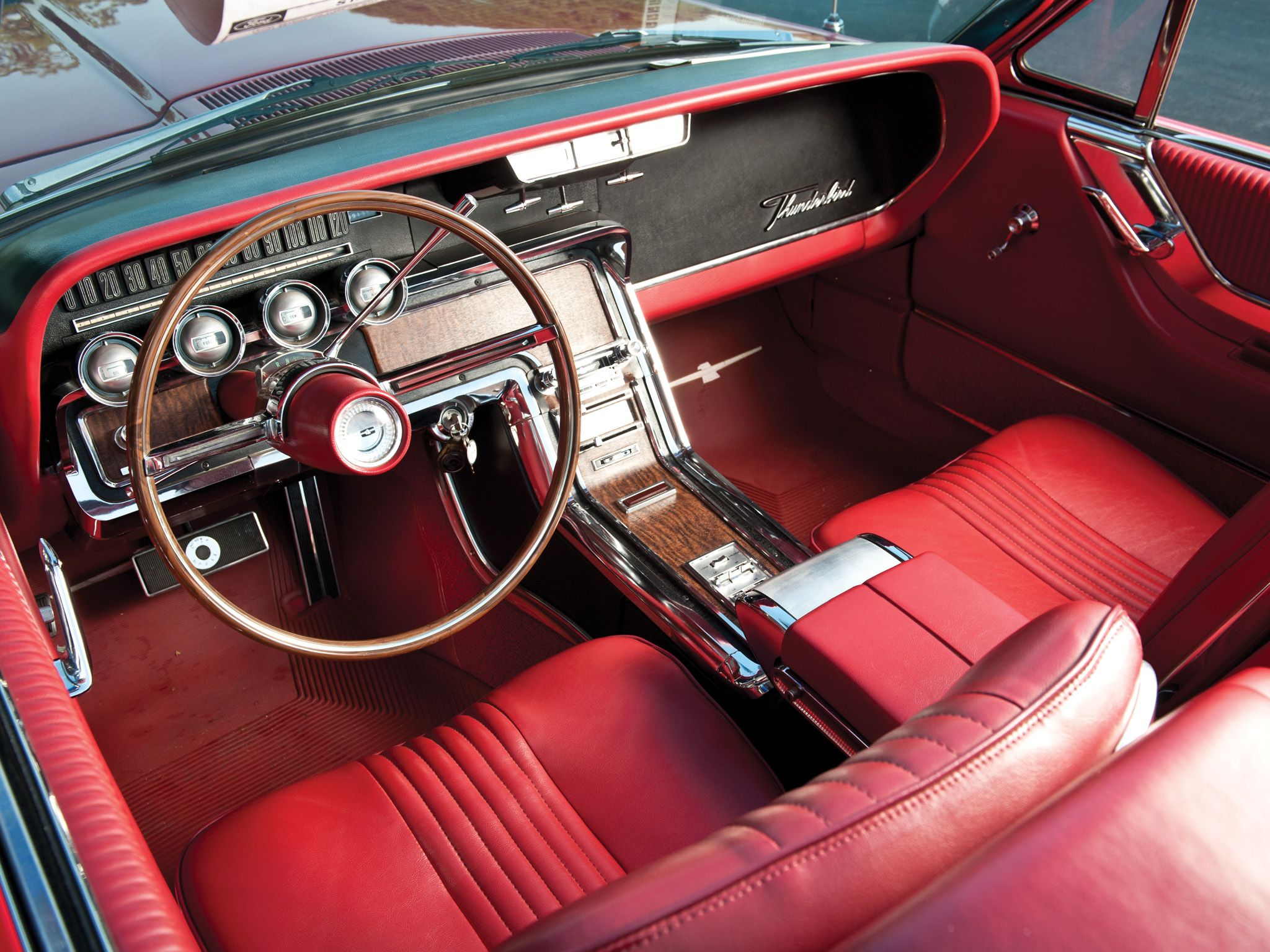 66 Thunderbird Interior