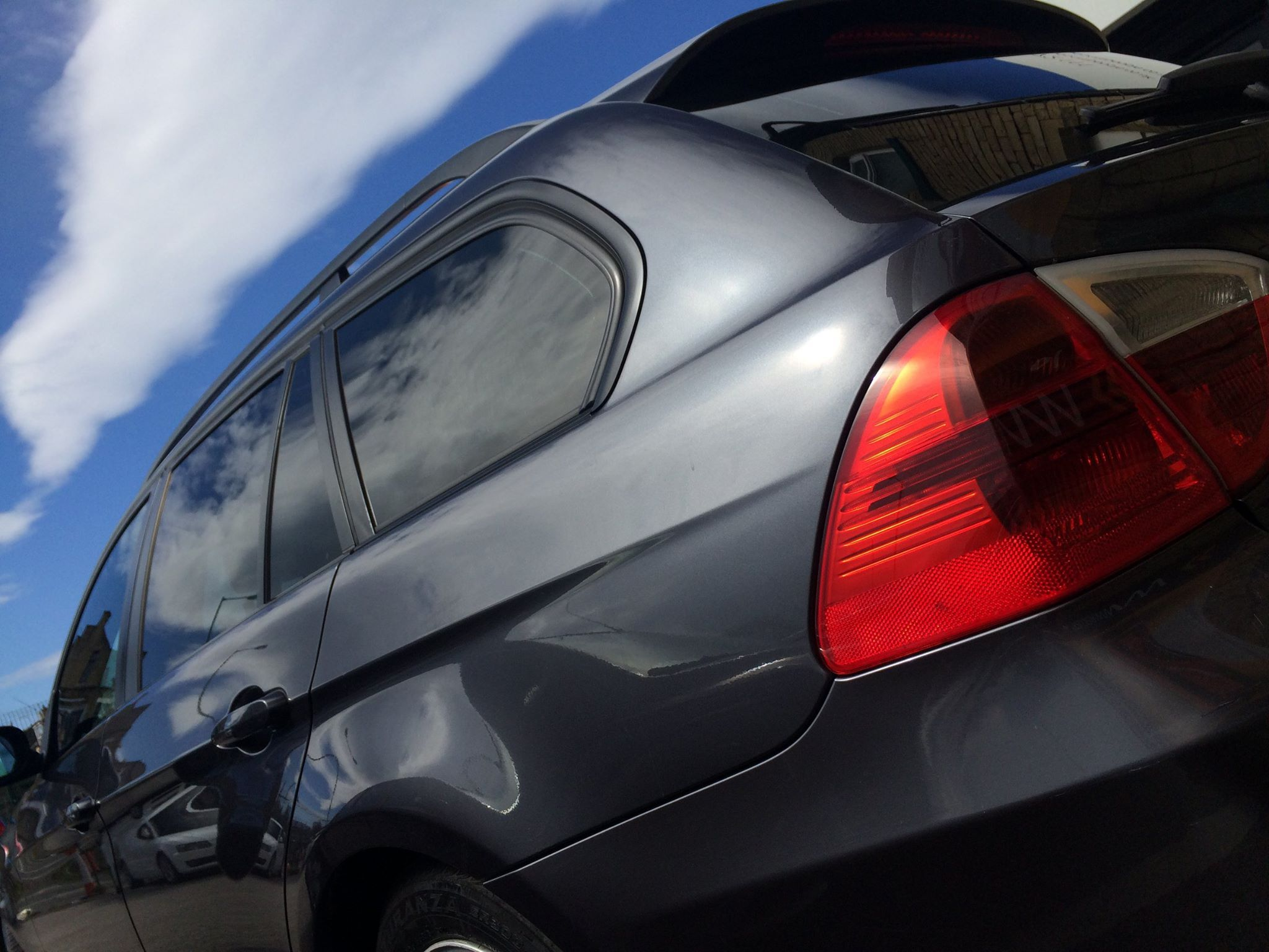 BMW Window Tints. cars rscustoms black clean tinting