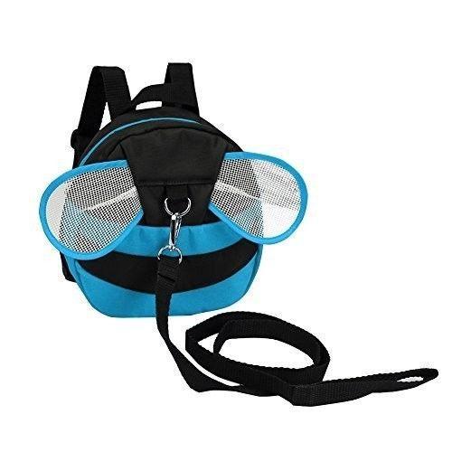 51896cca8e2d Safe Baby Harness Toddler Kids Safety Child Blue Bee Bag Strap Rein ...