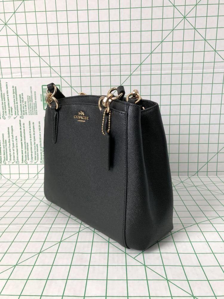2529a850b7339 fashion coach F57847 crossgrain leather minetta satchel purse black crossbody  bag