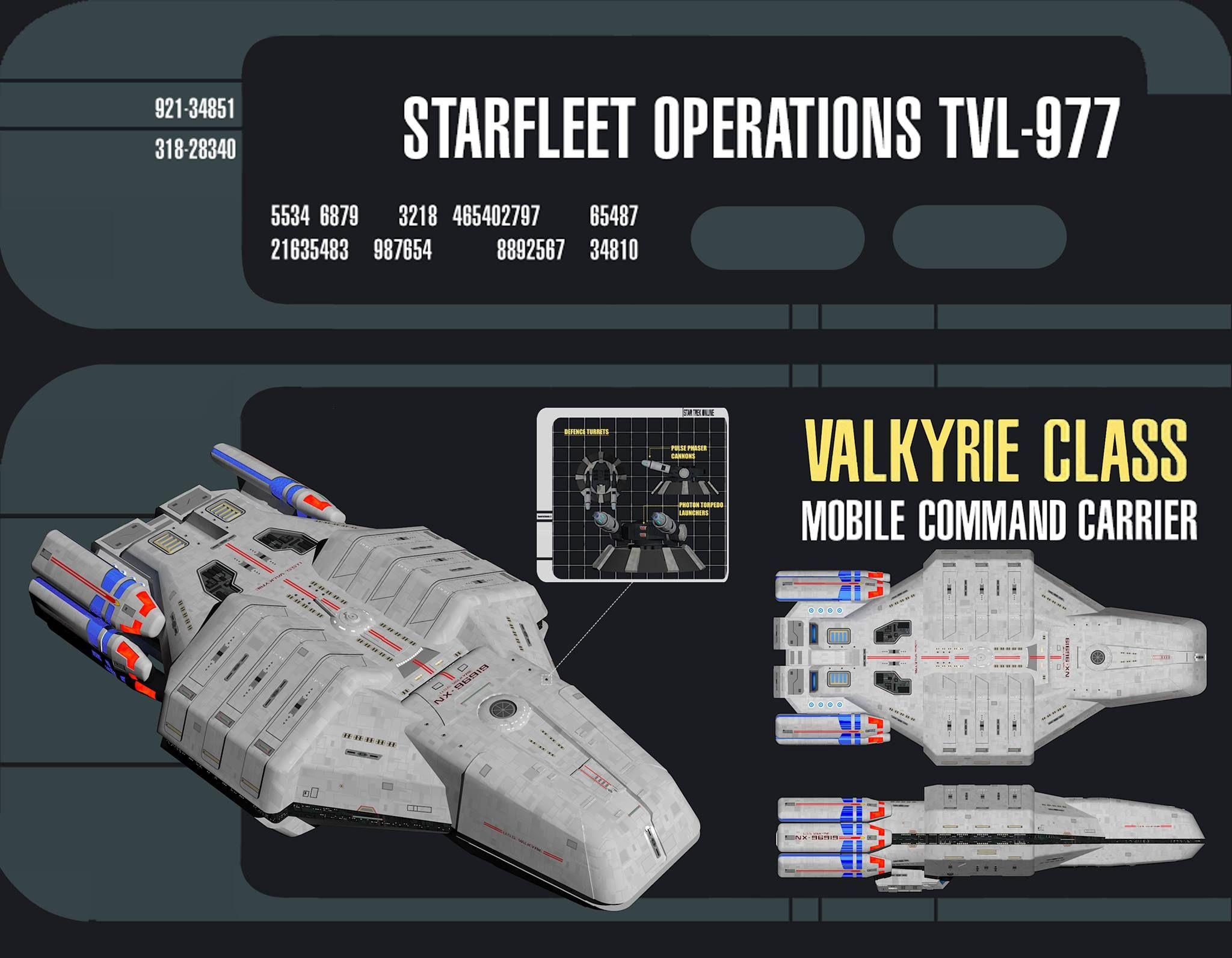 USS Valkyrie Defence Turrets By CalamitySideviantart