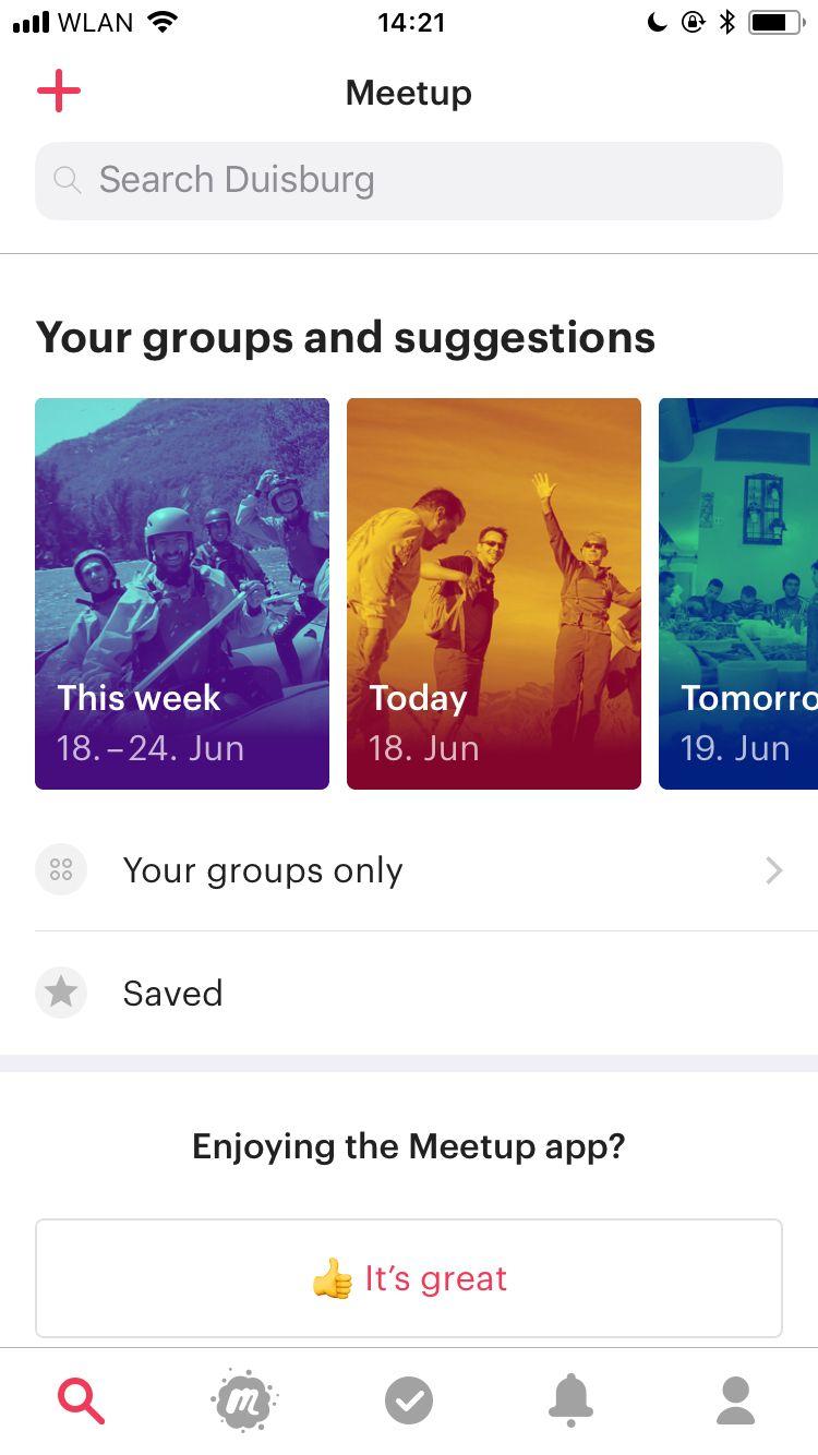 Meetup App