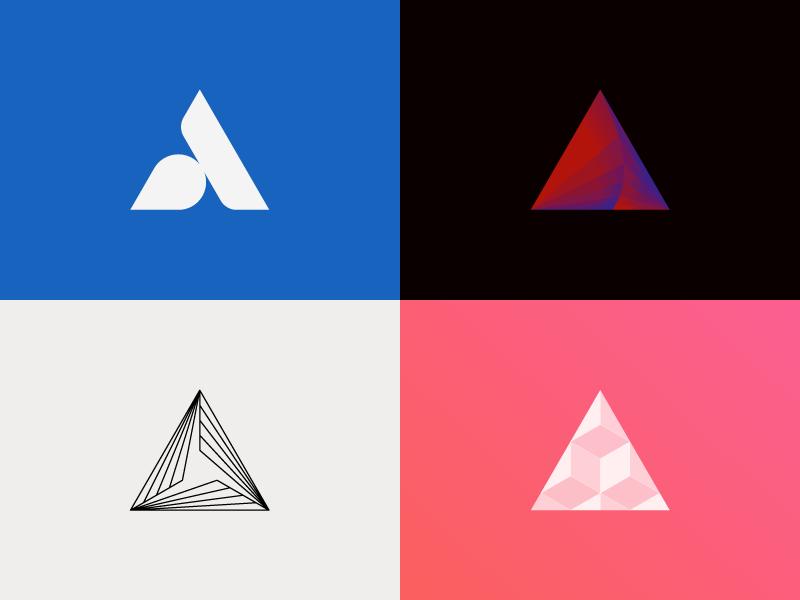 Equilateral Triangles In 2021 Online Logo Design Logo Images Circle Logo Design