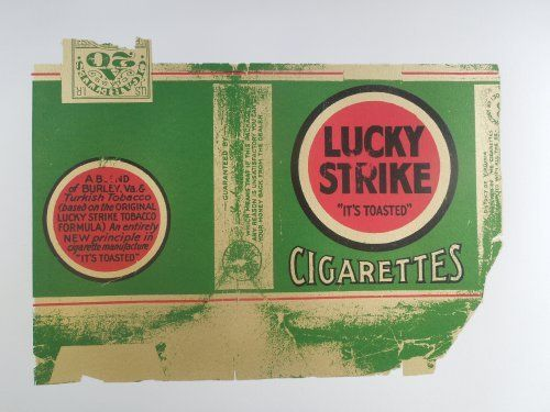 Lucky Strike A2 Poster