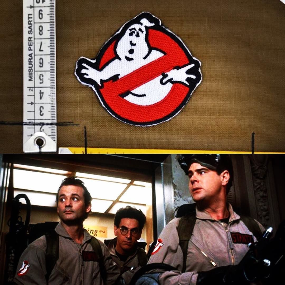 il mito.. GHOSTBUSTER!!!   #lapatcheria #ghostbuster #acchiappafantasmi #ghostbusters #moralepatches #patches #patch #militarypatch #toppe