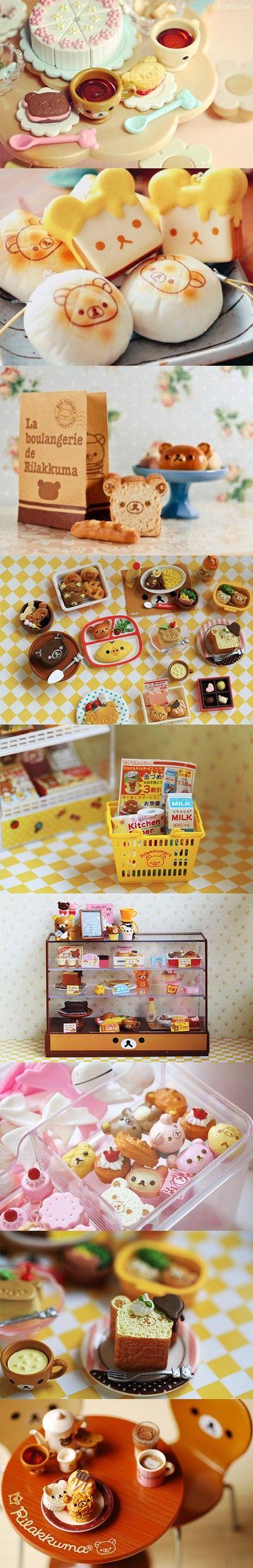 #Rilakkuma Re-Ment miniatures: http://www.modes4u.com/japanese/rilakkuma+re-ment