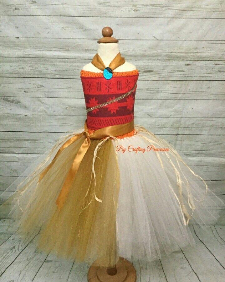 Diy moana tutu costume by crafting princesses moana tutu for Diy party dress