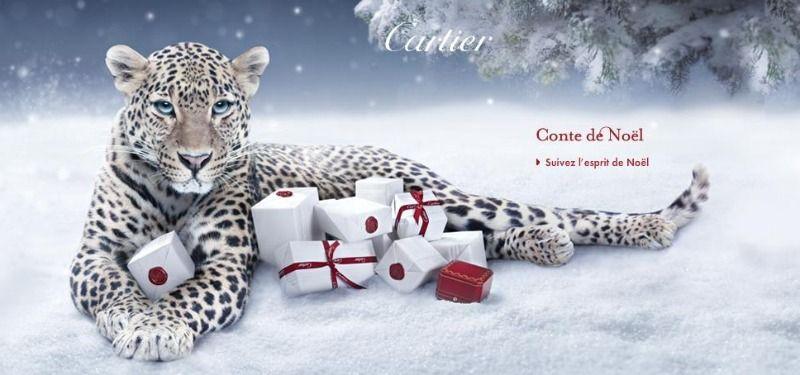 Pub Et Panthere Publicite Cartier NoelLes La Animaux bgf7vY6y