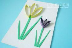Wiosenne Krokusy I Motylki Z Rolek Dzieciaki W Domu Flower Crafts Spring Crafts Spring Crafts For Kids