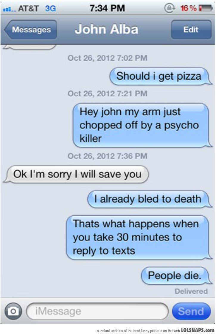 how to respond to lol text