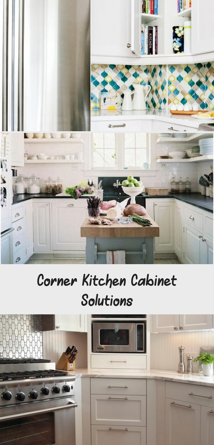 Open Shelving In The Kitchen As A Solution To The Problem Of The Dreaded Corner Cabinet Kitchens In 2020 Corner Kitchen Cabinet Freestanding Kitchen Kitchen Cabinets