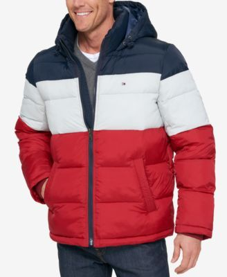 db754d80c7d9b Tommy Hilfiger Men s Classic Hooded Puffer Jacket
