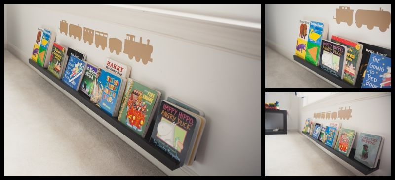 Ikea Picture Ledge Montessori Room Use A For Matchbox