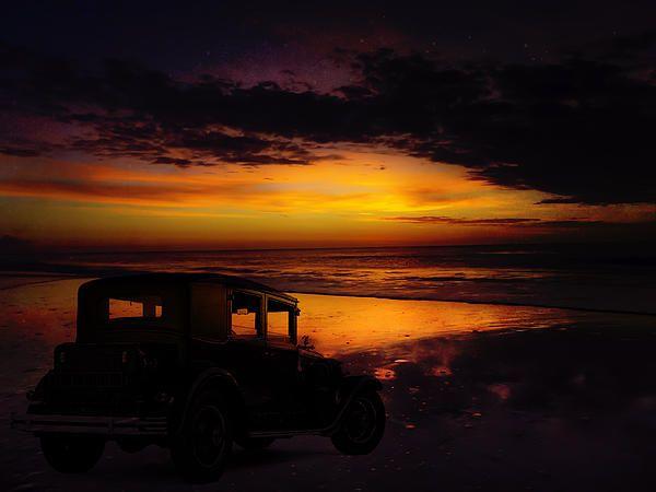 Pinamar beach in Argentina.