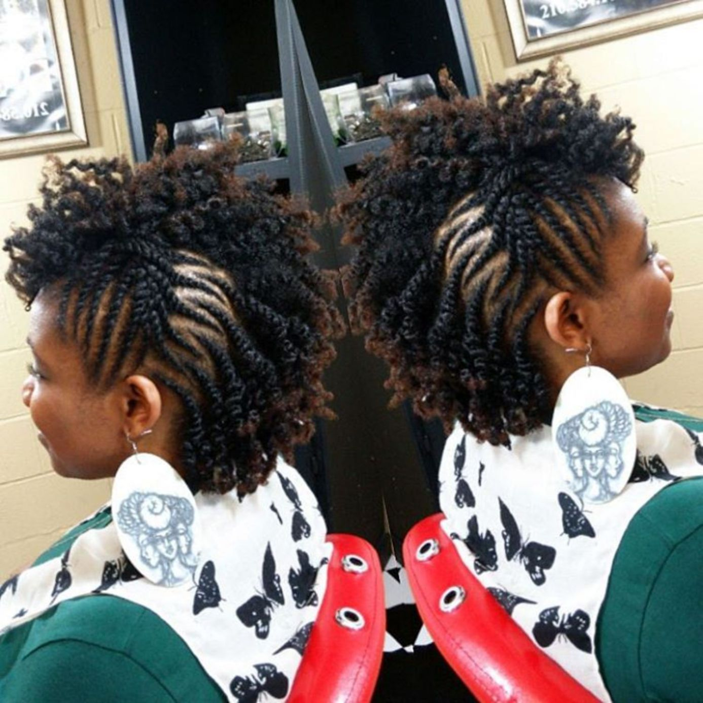 most inspiring natural hairstyles for short hair in
