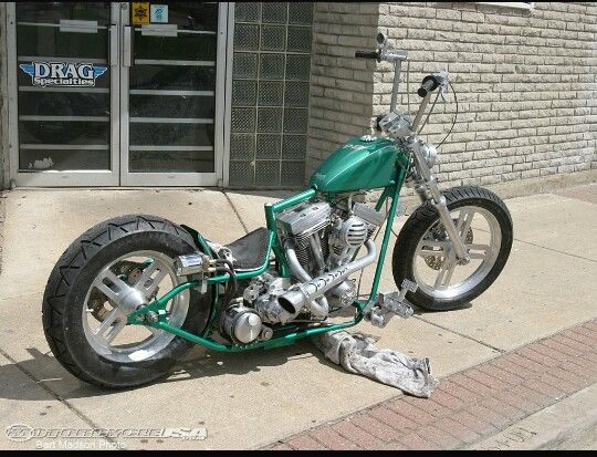 Love A Drop Seat Frame Custom Builder Motorcycle Usa Bobber
