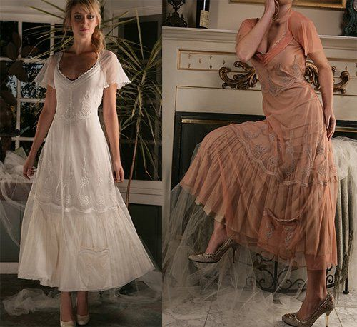 Best vintage inspired ideas for weddings wild wild west for Western vintage wedding dresses
