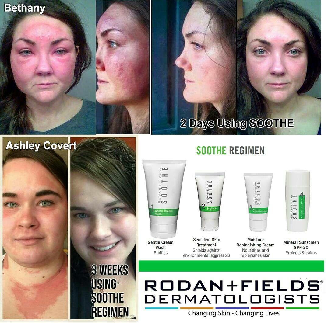 R+F SOOTHE Regimen Sensitive skin cream, Skin
