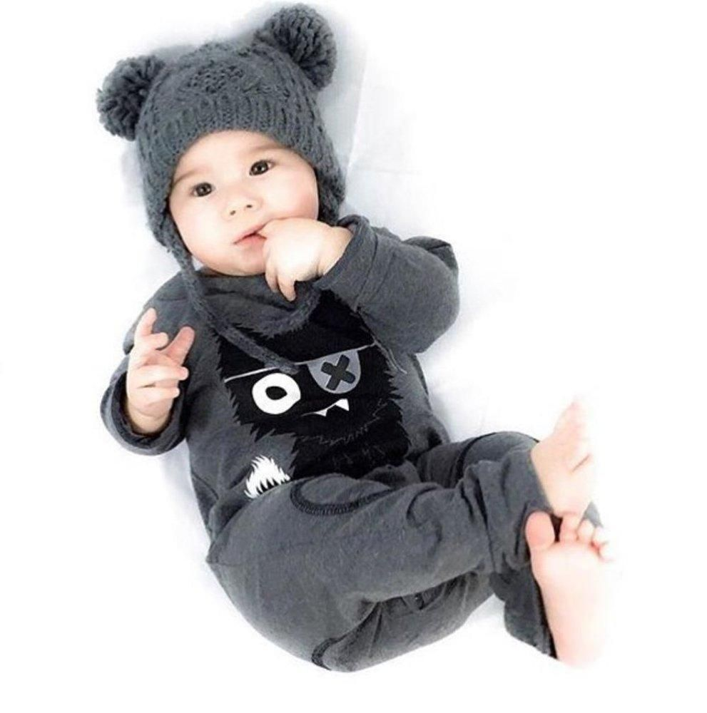 78bad84804f2a Baby Rompers Boy Clothing Cotton Newborn Girl Clothes Long Sleeve Cartoon  Infant Jumpsuit 0-3 months newborn