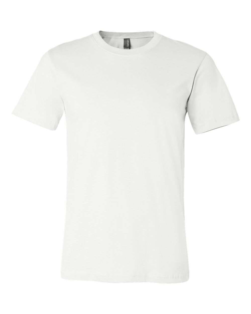 Canvas Unisex Jersey Crew Neck T-Shirt 3001-Casual Wear Plain Cotton Tee Bella