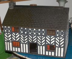 What Makes A House A Tudor shoe box electrical house school project   house style   pinterest