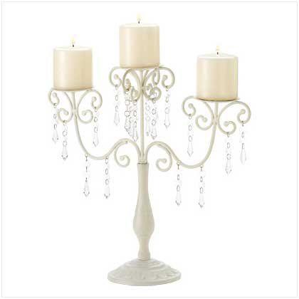 Gifts  Decor Ivory Candelabra Wedding Gift Centerpiece Candle Holder >>> Click image for more details.