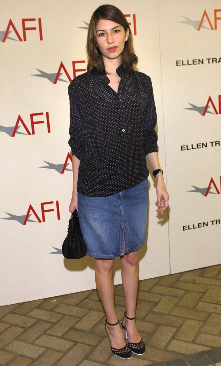 "Sofia Coppla at ""AFI Awards Luncheon Salutes Film and Television Creative Teams,"" in Beverly Hills 2004."