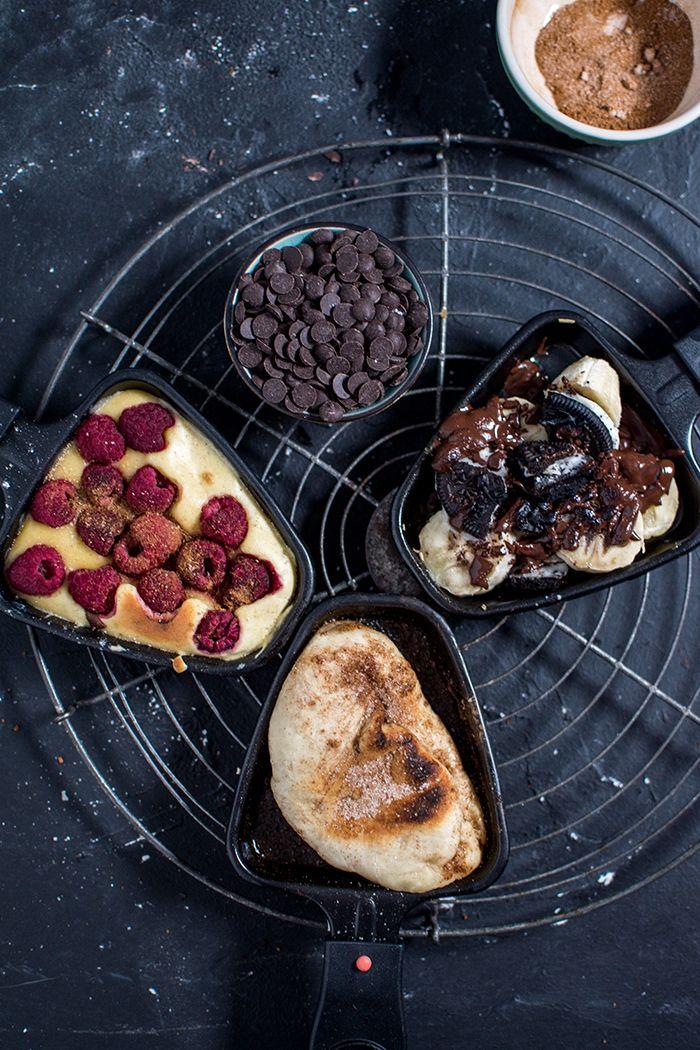 Raclette-Spezial: Süßes Pfännchen Schlemmen ⋆ Knusperstübchen #racletteideen