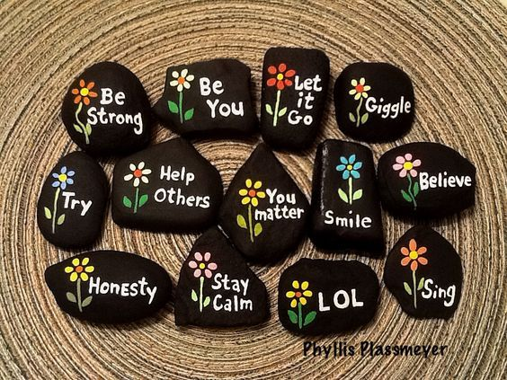 Painted Rocks Ideas Best Rock Art Designs Garden Ideas is part of Rock garden Kids - These incredible painted rocks ideas will be all the inspiration you'll need to make a beautiful rock garden! From kids projects to intricate designs!