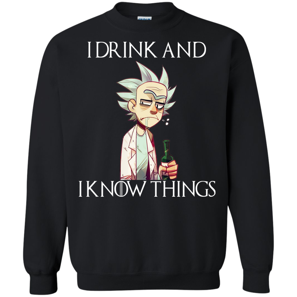 Rick And Morty I Drink And I Know Things Shirt Hoodie Rick