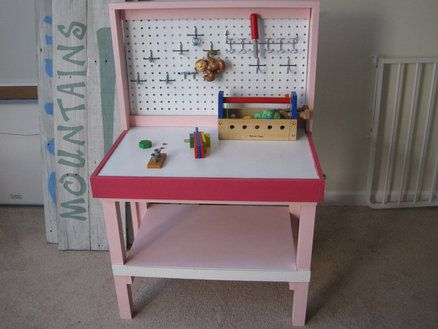 Surprising Diy Kids Workbench For The Kidsss Kids Workbench Diy Gmtry Best Dining Table And Chair Ideas Images Gmtryco