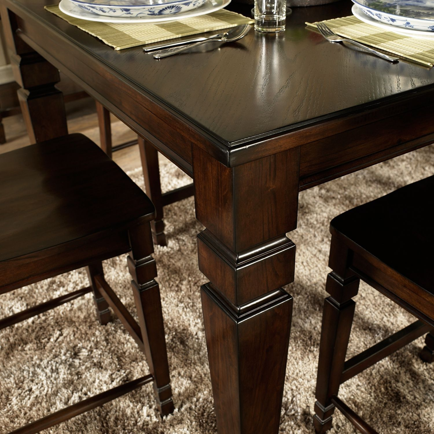 Holden Counter Height Dining Set 7 Pc Sam S Club Counter