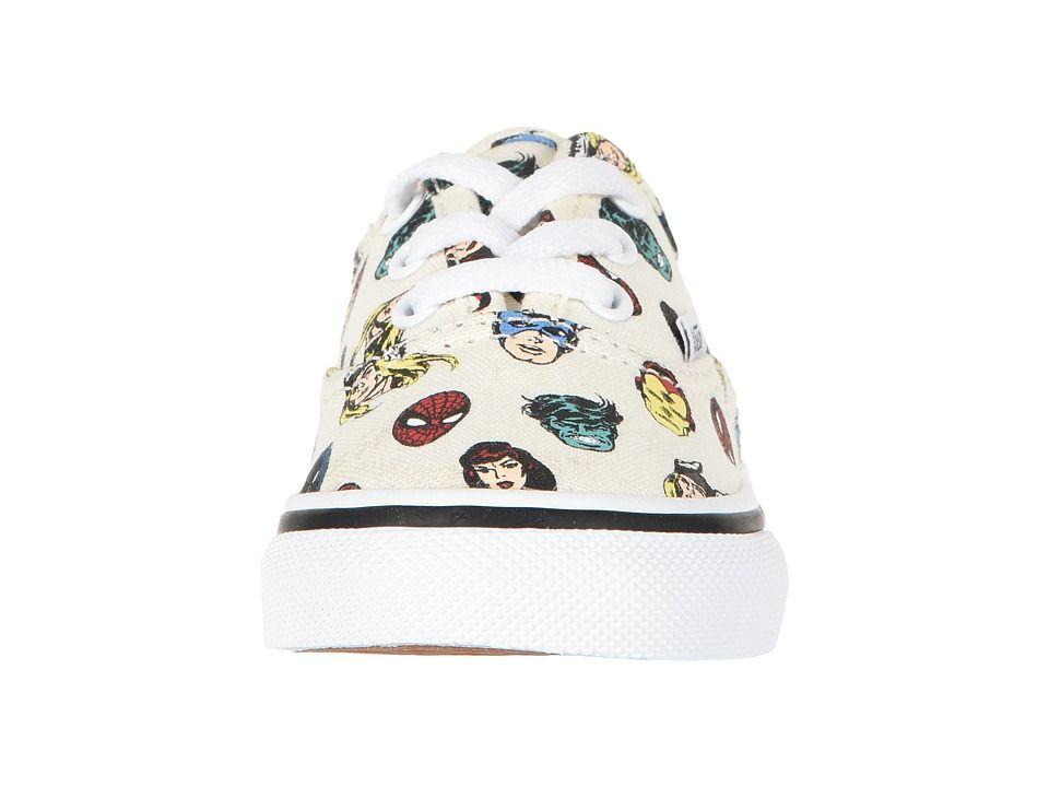 7125d851789 Vans Kids Vans X Marvel(r) Authentic (Infant Toddler) Kid s Shoes Black