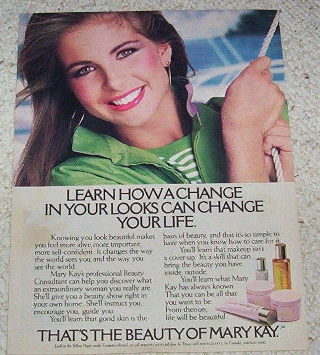 Mary Kay Vintage Ad http://www.marykay.com/nrusboldt