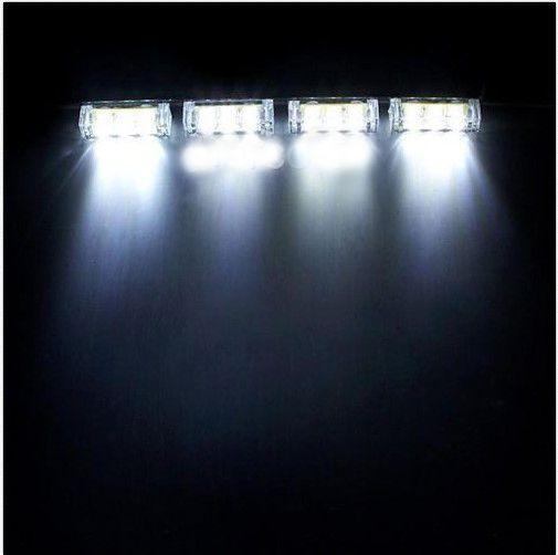 Super 3 Modes Car 4X3 12 Led White Flashing Emergency Strobe Flash Light 4 Wiring Cloud Peadfoxcilixyz