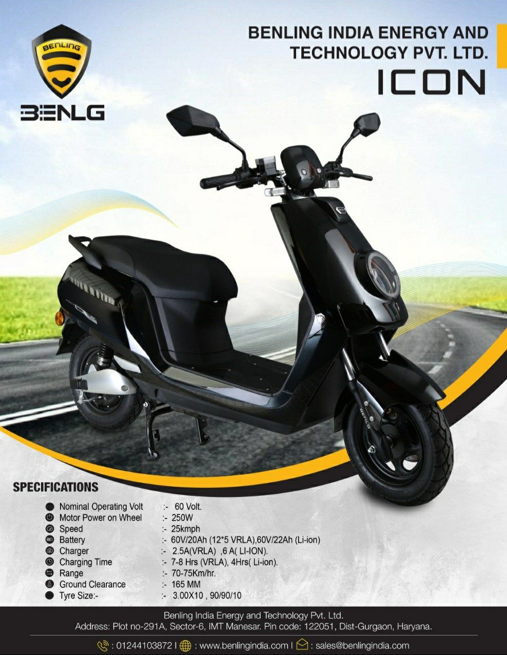 The weather changes, constantly occurring natural disaster and heavy drought in various regions proves that gas produced by crude oil is worsening our climate. To better these effects we need to change the way we commute. Benling India offers a wide range of e-scooters to get you through your daily life commute and also helping to keep our future clean green & healthy #nopollution #letsgreenit #gogreen