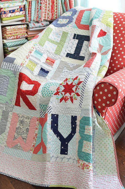 Beautiful quilt...