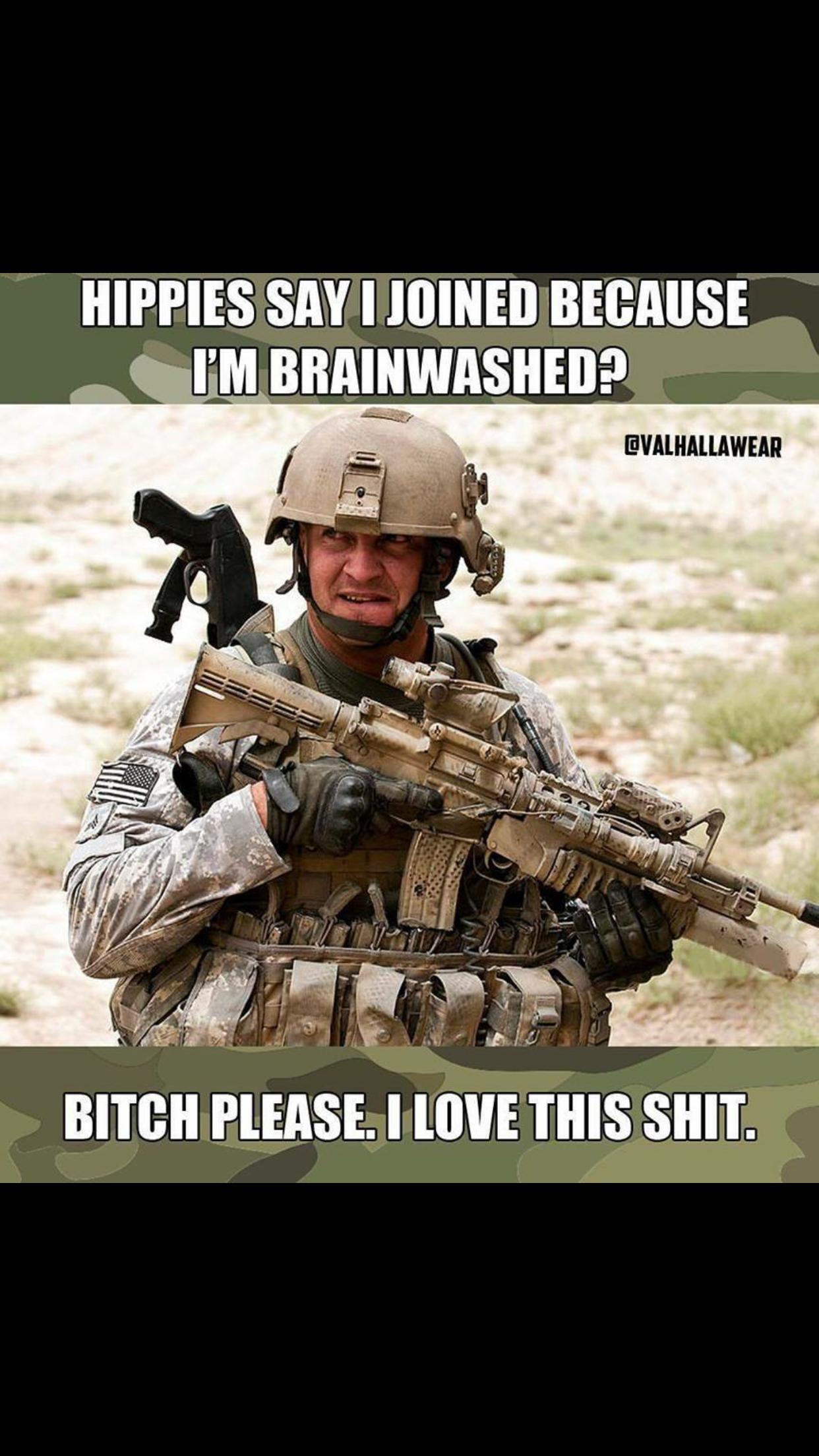 Ich liebe meinen Armee-Veteranen