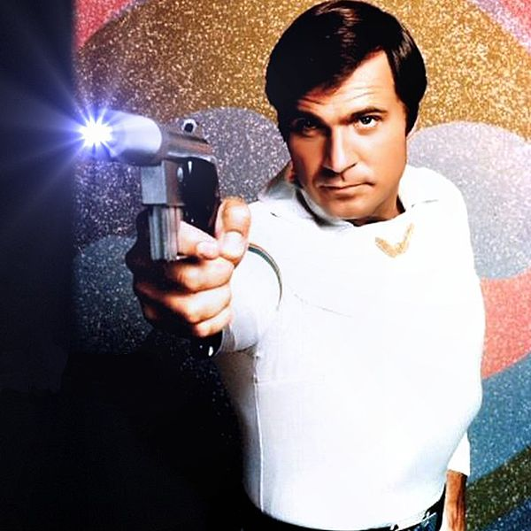 Buck Rogers with his Ray Gun