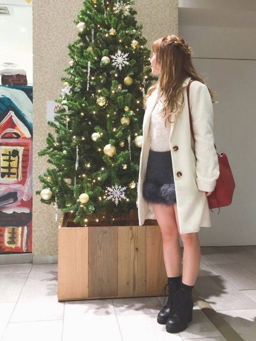 いつもたくさんのいいね♡、 フォローありがとうございます🐶💕 今日は【 クリスマスデートコーデ