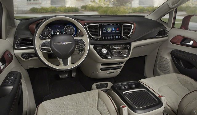 2017 Chrysler Pacifica Town And Country Interior