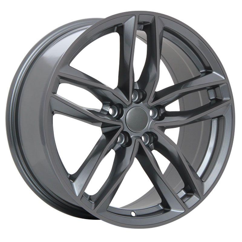 Online Tire Store >> Dai Replica R36 Gunmetal 18x8 5 112 Offset 42 Wheel