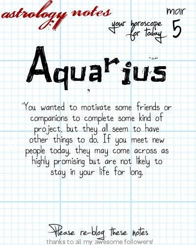 Aquarius Astrology Note: Hey Aquarius, your Love Scope is waiting at iFate.com right now!