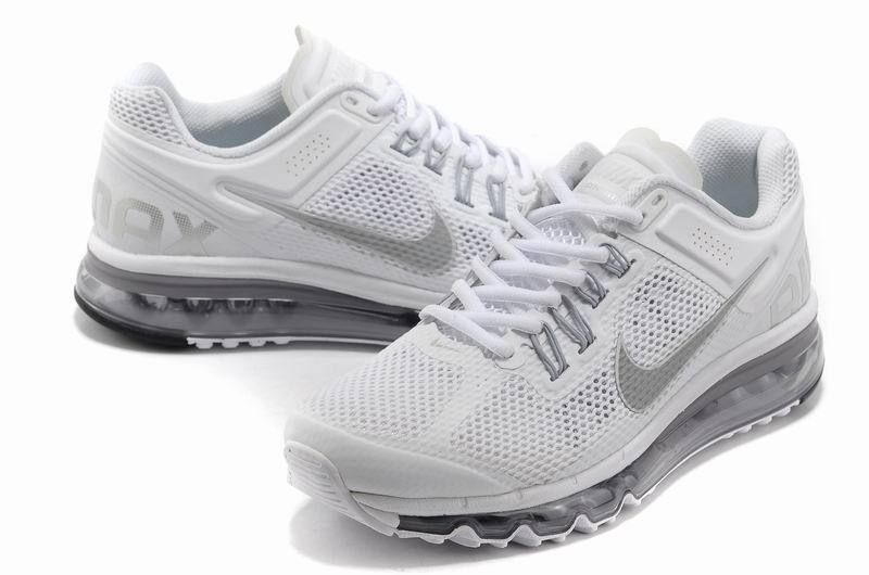 low priced 73382 50f37 Nike Air Max 2013 Women Mesh Shoes White Gray Item Nike Air Max 2013