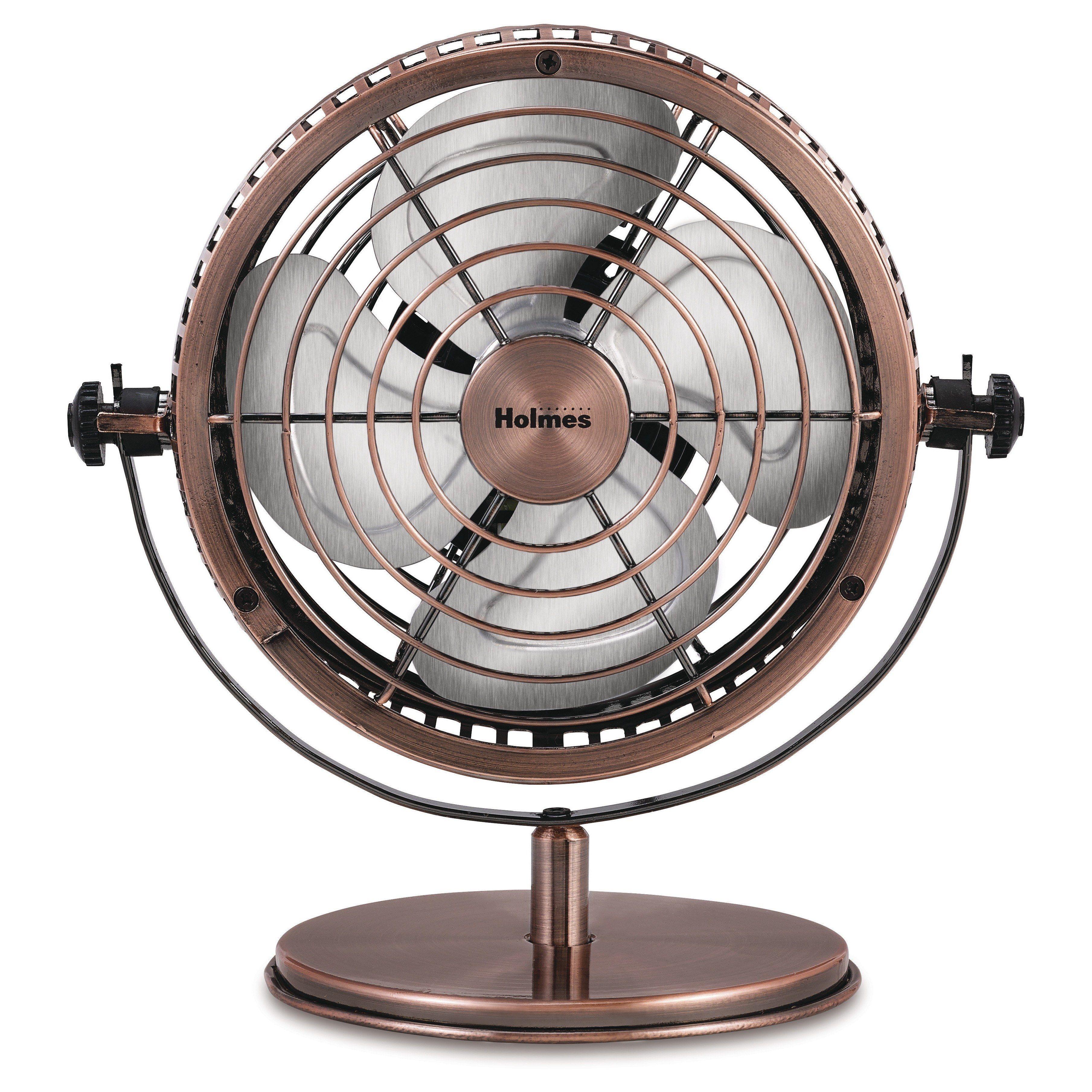Holmes Metal Desk Fan Medium Bronze Hdf0646 Ct