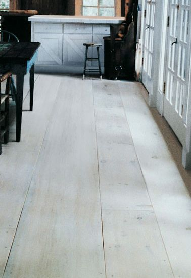 Eastern White Pine Kitchen With A Hand Scraped Edge Wood Floors Wide Plank Pine Wood Flooring Wood Floor Bathroom
